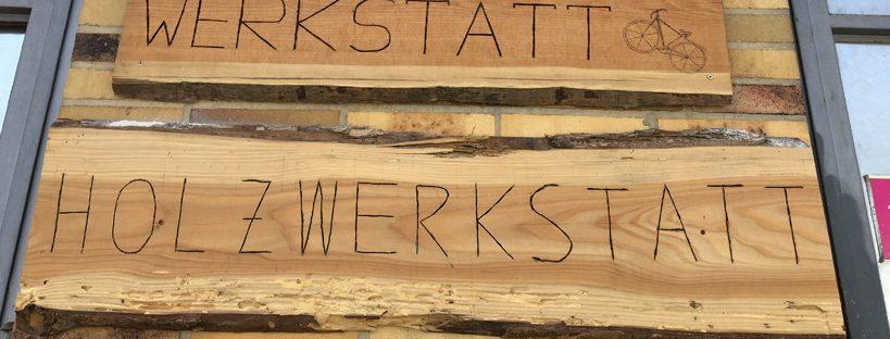 Holzwerkstatt Header